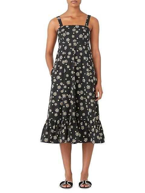 Al Fresco Daisy Dot Midi Dress