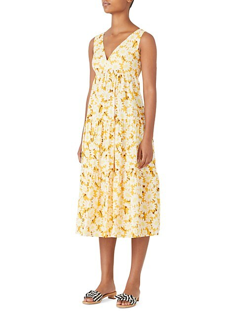 Kate Daisy Vineyard Midi Dress