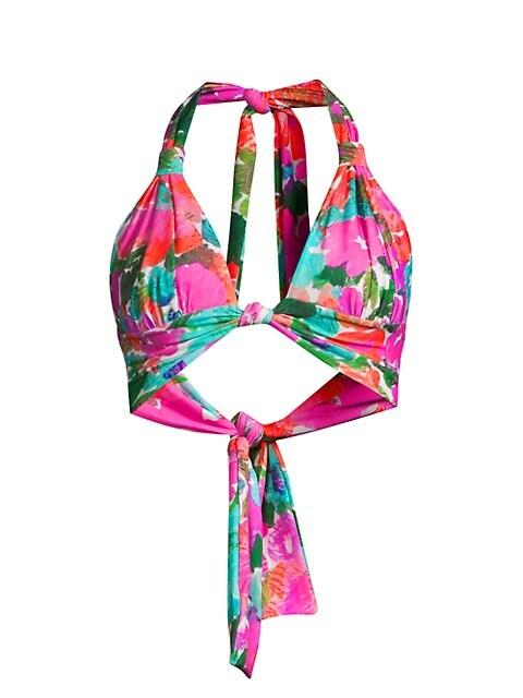 Gabi Triangle Bikini Top