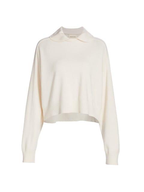 Collar Cashmere Sweater