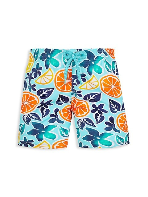 Little Boy's & Boy's 1994 Press Citron Swim Shorts