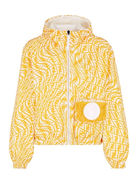 FF Kway Vertigo Reversible Nylon Jacket