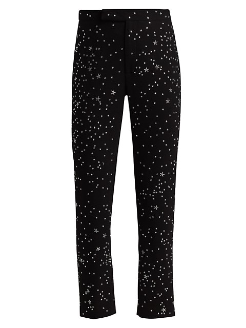 Longfellow's Light Of Stars Slim Wool Trousers