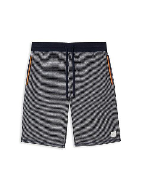 Marine Striped Shorts