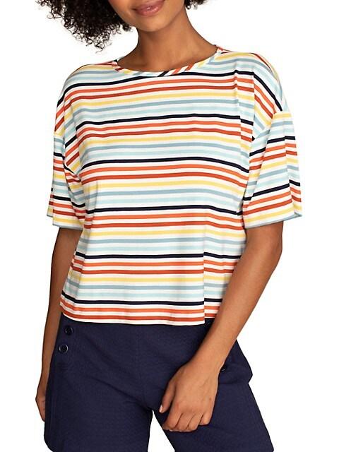 Yatomi Multi-Stripe T-Shirt
