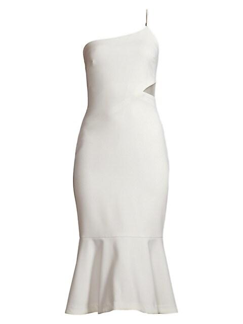 Fina One-Shoulder Midi Dress