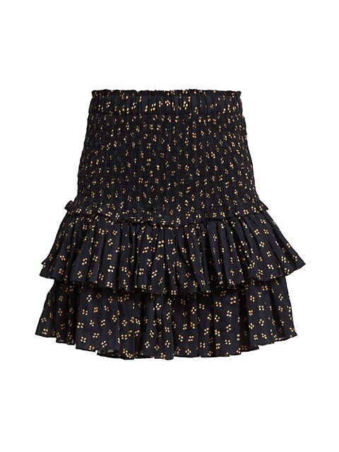 Naomi Smocked Skirt