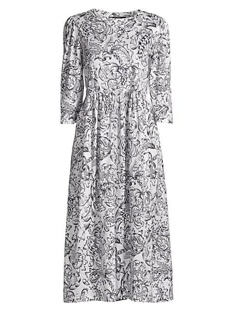 Rane Jersey Knit Cotton Dress