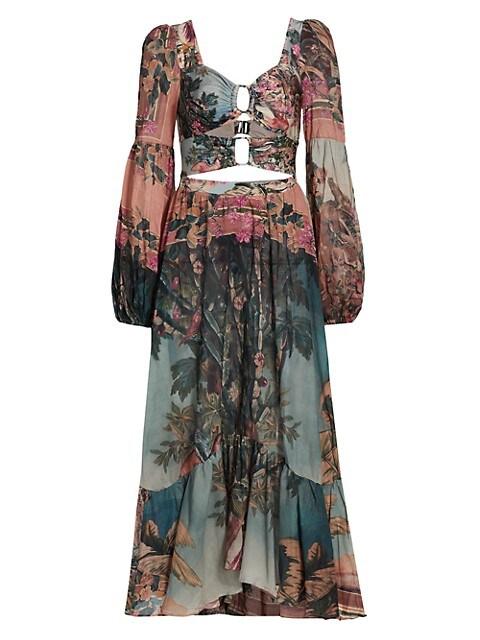 Paraiso Cut-Out Midi Dress