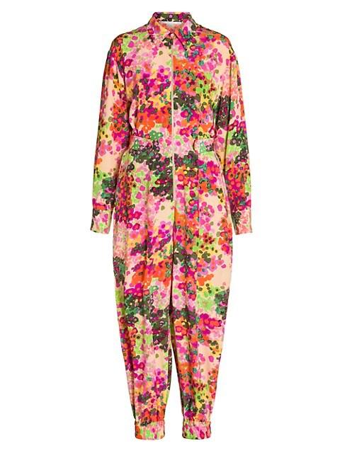 Mina Floral Jumpsuit