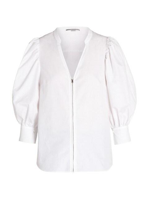 Rose Puff Sleeve Shirt