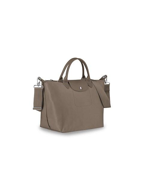 Le Pliage Néo Medium Handbag with Strap