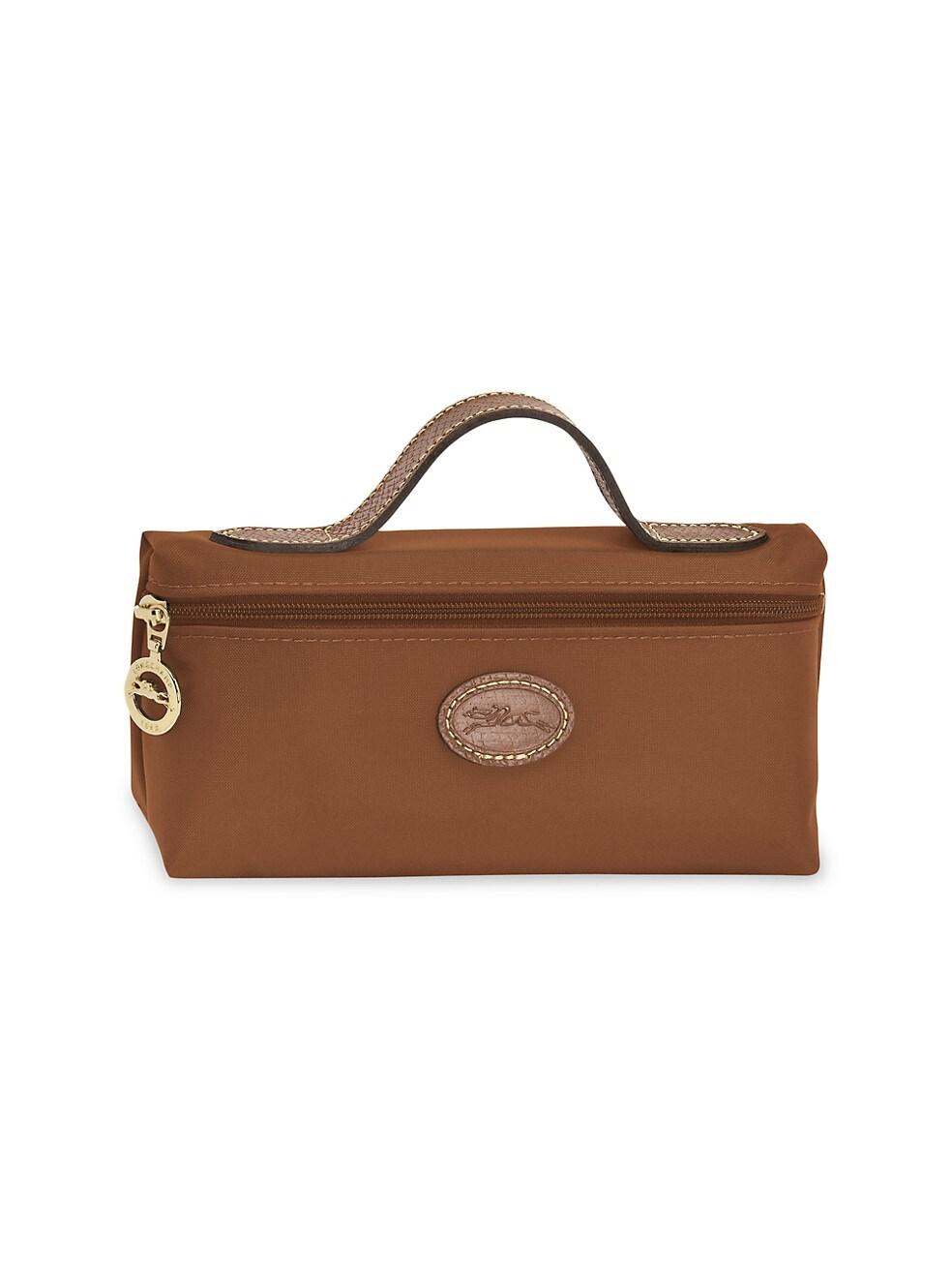 롱샴 파우치 Longchamp Le Pliage Cosmetic Case,COGNAC