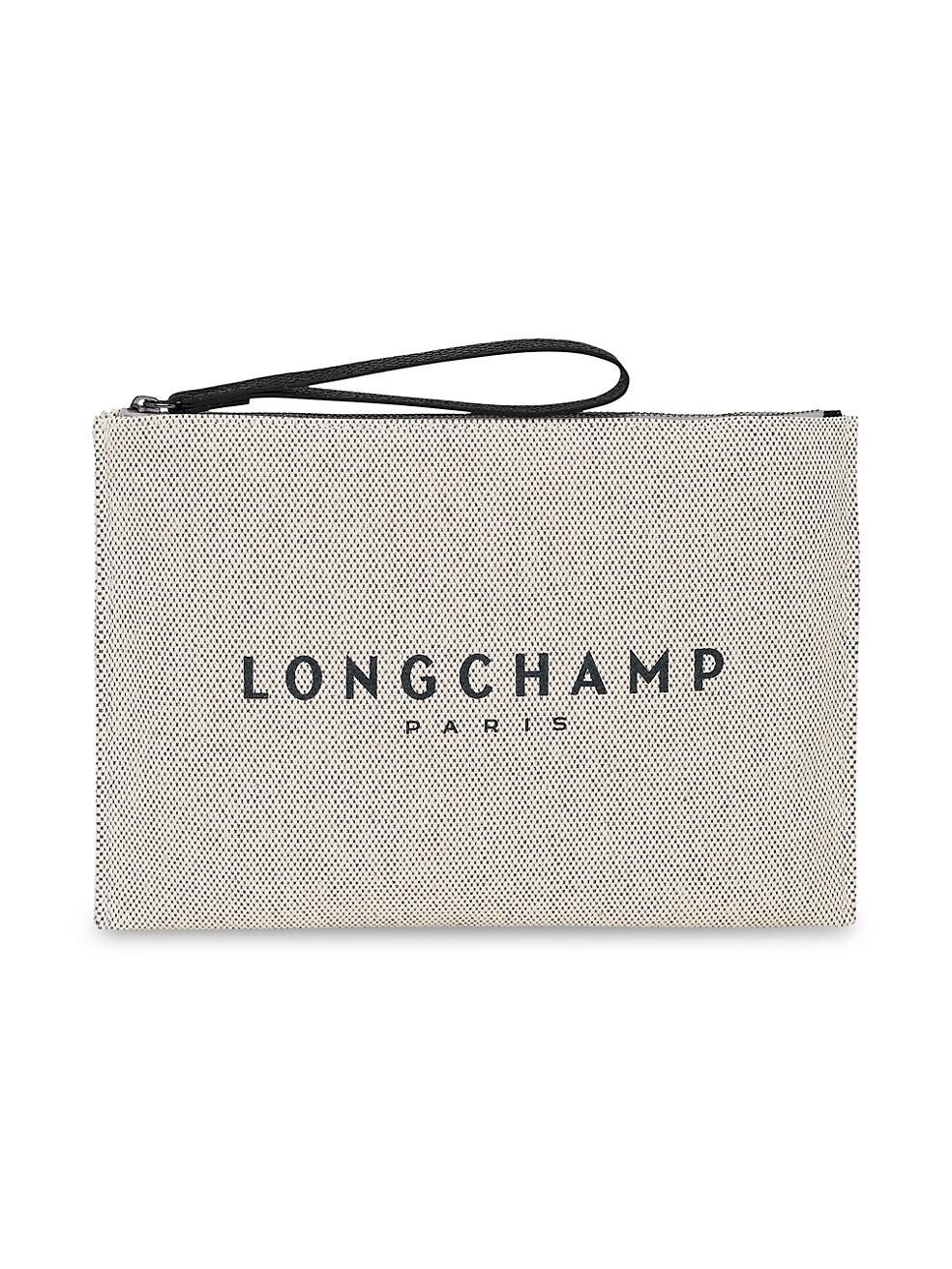 롱샴 파우치 Longchamp Essential Toile Cosmetic Case,ECRU