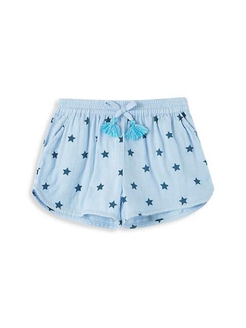 Little Girl's & Girl's Marcela Star Farrah Shorts