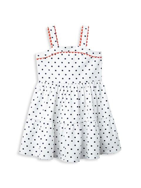 Baby Girl's, Little Girl's & Girl's Star-Print Cotton Dress