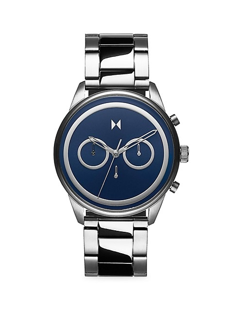 Power Lane Sonic Stainless Steel Watch