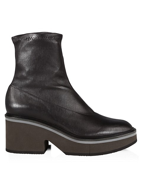 Albane Leather Platform Boots