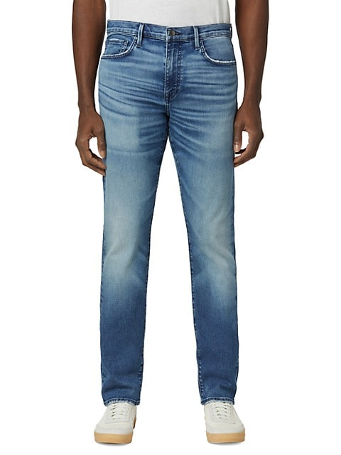 The Asher Mid-Rise Distressed Jeans