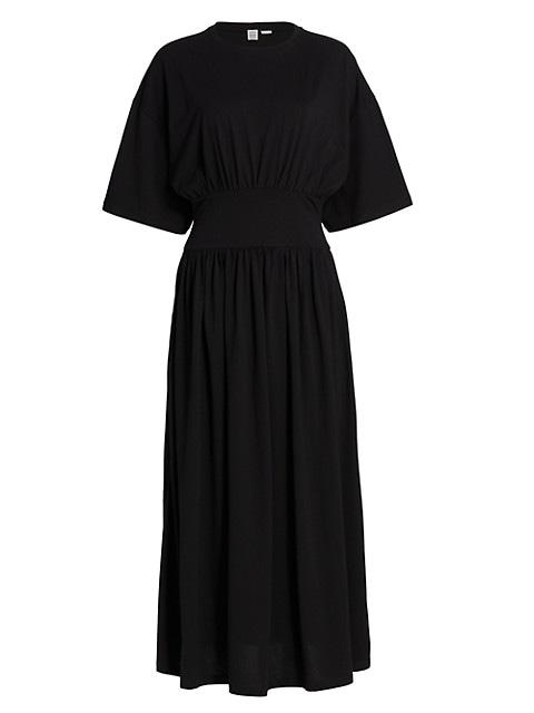 Cotton A-Line T-Shirt Dress
