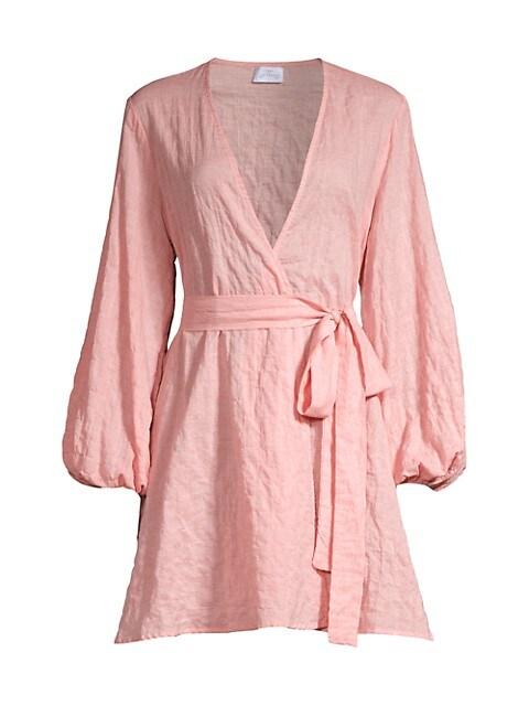 Organic Japanese Cotton Wrap Dress