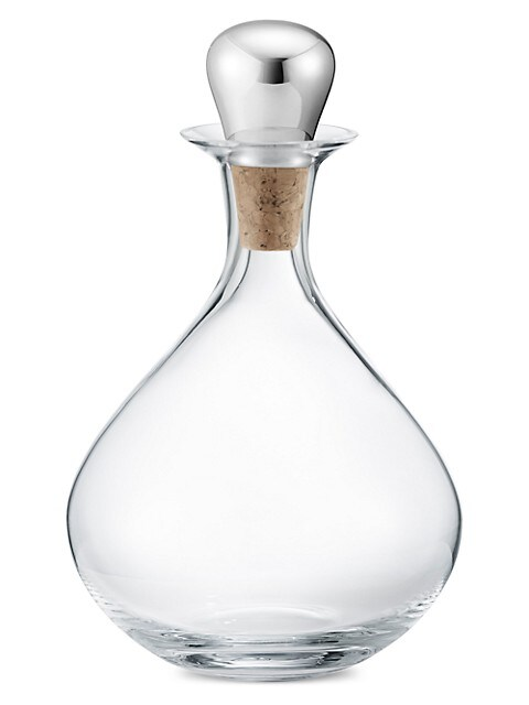 Sky Liquor Decanter With Steel Stopper