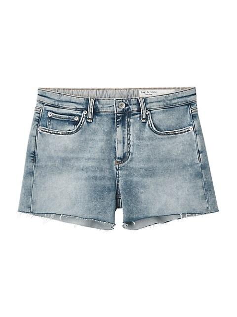 Dre Loopback Denim Shorts