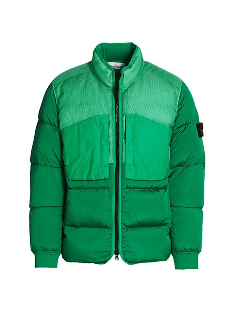 Colorblock Down Puffer