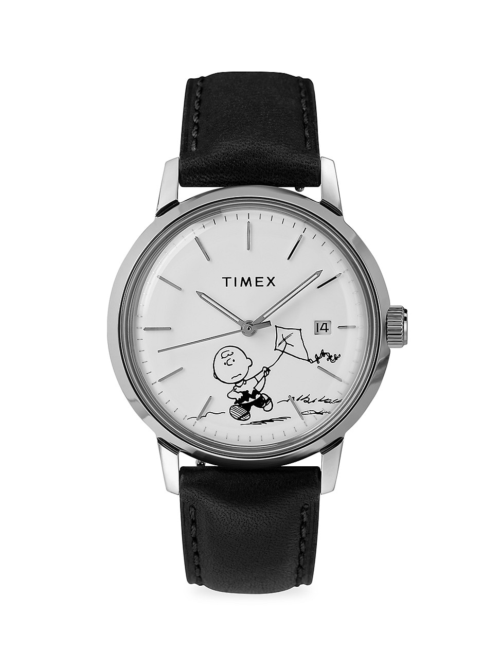 TIMEX MARLIN AUTOMATIC CHARLIE BROWN 40MM WATCH