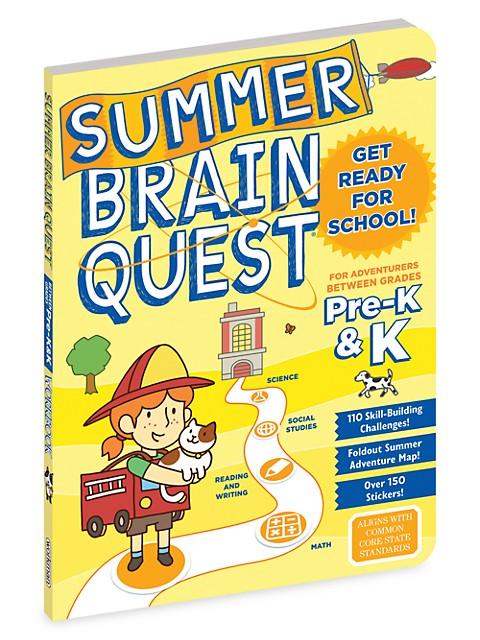 Summer Brain Quest: Between Grades Pre-K & K Book
