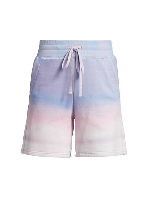 Indya Ombre Cotton-Blend Short