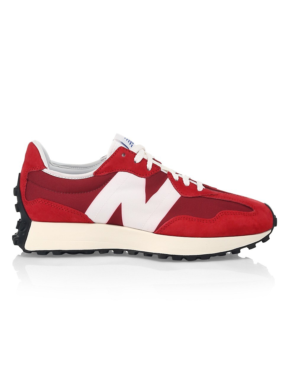 뉴발란스 327 남성용 스니커즈, SCARLET New Balance Mens 327 Mixed Media Sneakers,SCARLET