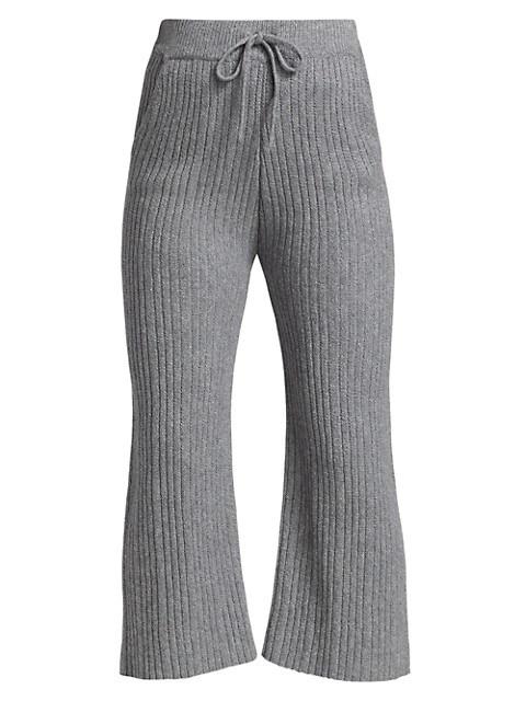 Ribbed Straight Leg Pants