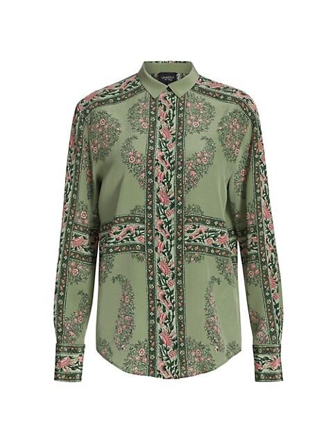 Floral Silk Shirt