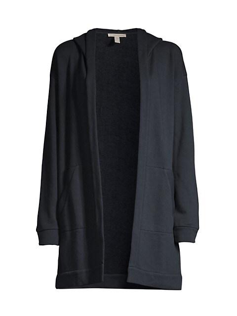Hooded Knit Jacket