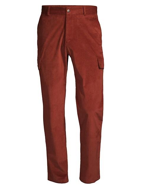 Stretch Cotton Corduroy Pants