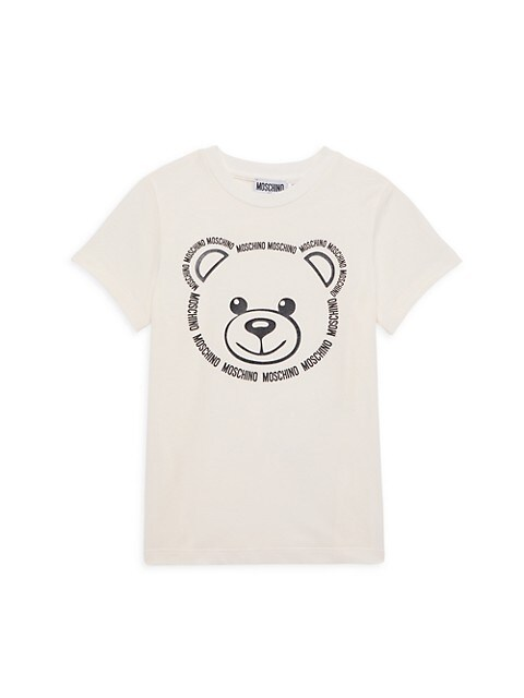 Little Kid's & Kid's Logo Teddy Bear T-Shirt