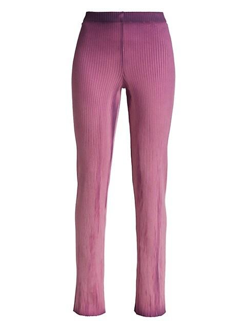 The Ibiza Ribbed Cotton Pants