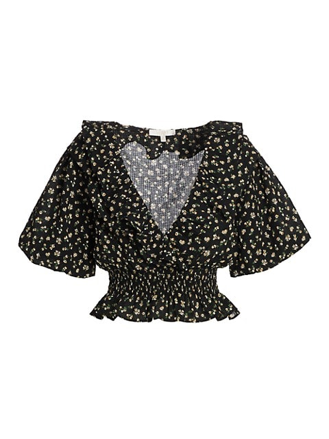 Mayville Floral Puff Sleeve Blouse