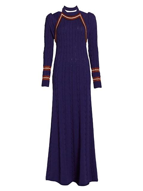 Hold My Bolero Knit Maxi Dress