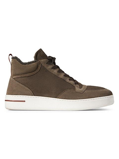 Newport Shearling Sneakers