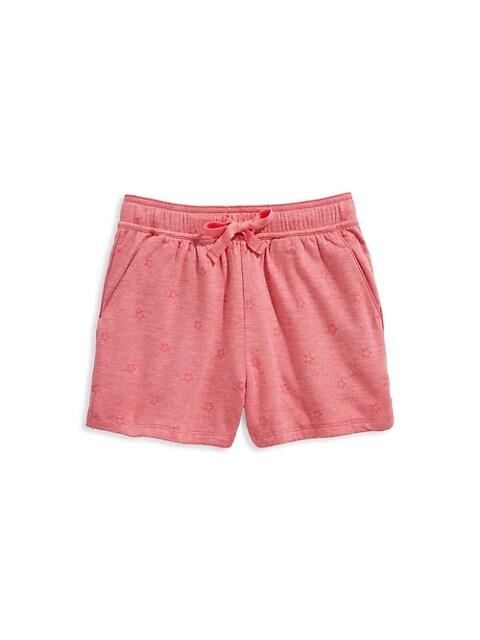 Little Girl's & Girl's Dreamcloth Star-Print Shorts