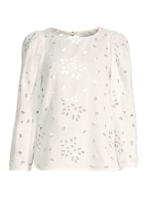 Sarah Embroidered Blouse