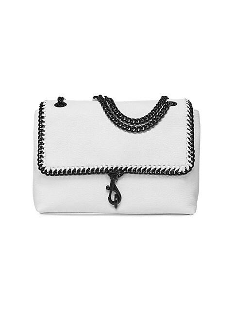 Edie Leather Shoulder Bag