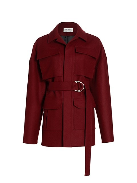 Teona Wool Safari Jacket