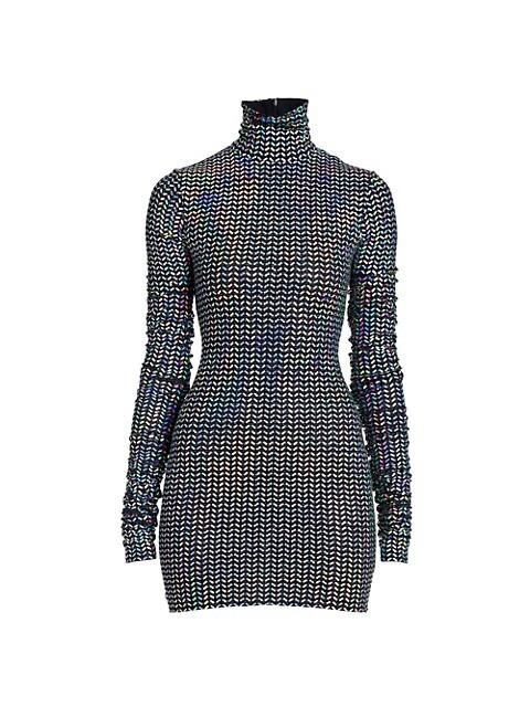 Bodycon Sequin Mini-Dress