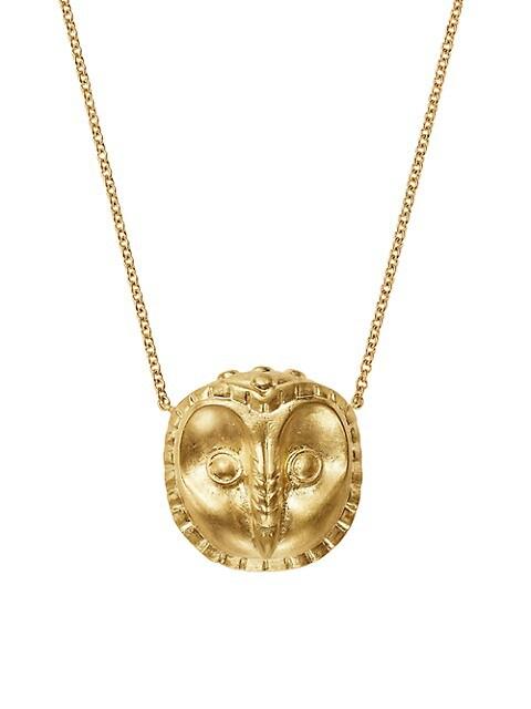 Legends Ibis 18K Yellow Gold Pendant Necklace