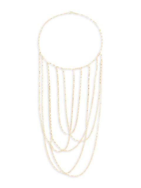 Blake 14K Yellow Gold Multi-Chain Necklace
