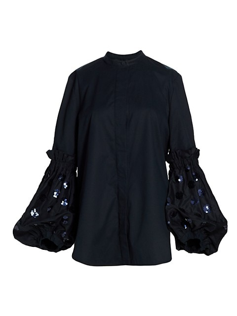 Battipaglia Balloon Sleeve Shirt