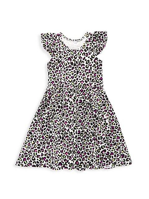 Baby's, Little Girl's & Girl's Leopard Print Dress
